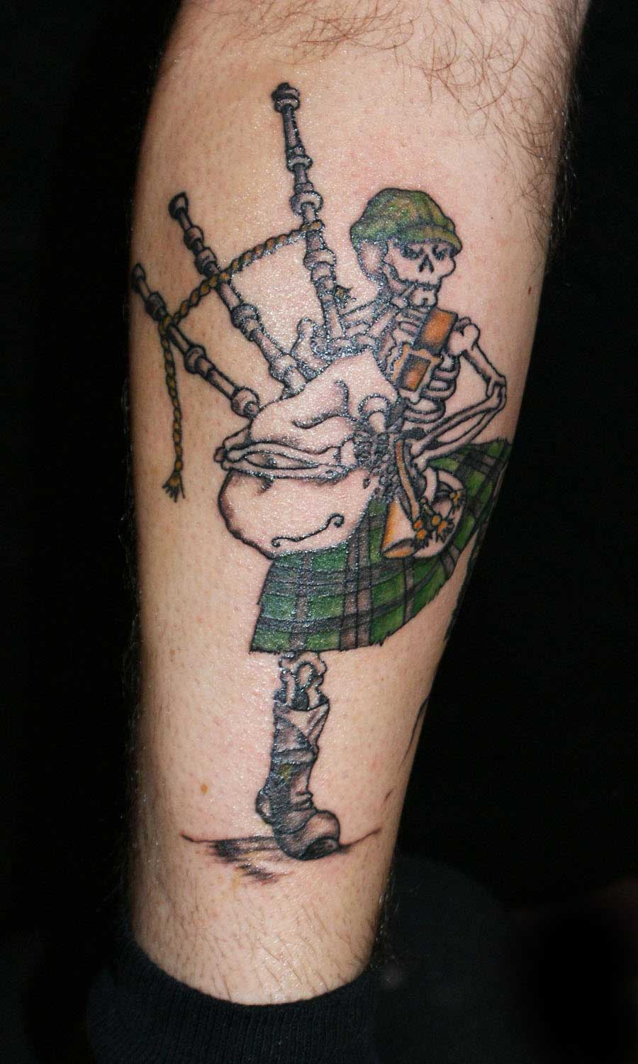 pin bagpipes tattoo on pinterest. Black Bedroom Furniture Sets. Home Design Ideas