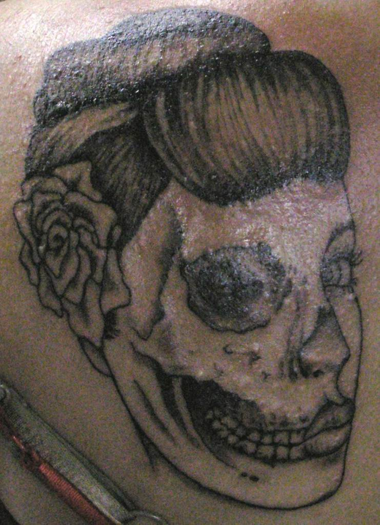 Zombie Girl Fine Art Tattoos By Molly Rose